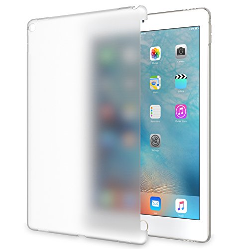 MoKo iPad Pro 12.9 Case Frosted Transparent Slim Hard Plastic Protector Back Cover for iPad Pro 12.9