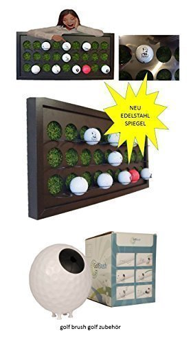 Pelota de pared caja para pelotas de golf con césped ...