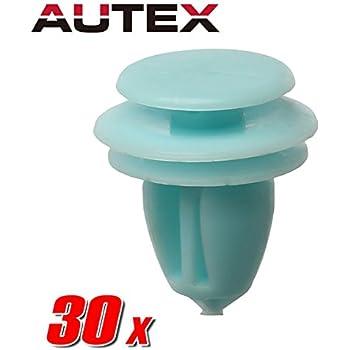 Amazon Com Autex 50pcs Garnish Pillar Trim Side Lining