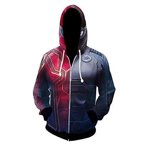 Adult Jumpsuit Superhero Spandex Lycra Zentai 3D Bodysuit Halloween Cosplay 3XL
