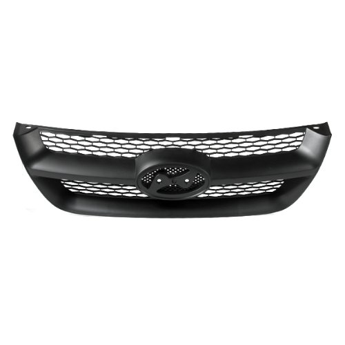 e Assembly Grill Replacement Matte Black With Molding, 400-22569 HY1200141 863503K000 ()