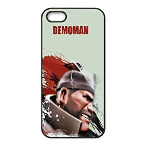 Demoman Team Fortress 2 Game iPhone5s Cell Phone Case Black yyfabc-467050