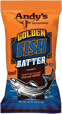 Amazon Andys Golden Fish Batter 10 Ounces Pack Of 2