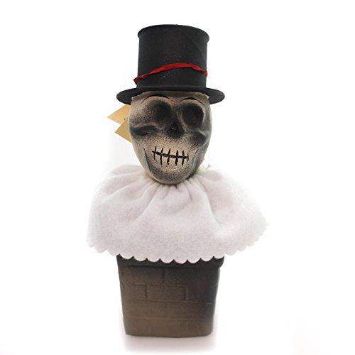 Ino Schaller Halloween (Halloween Skeleton Skull Candy Container Paper Ino Schaller Paper maché)