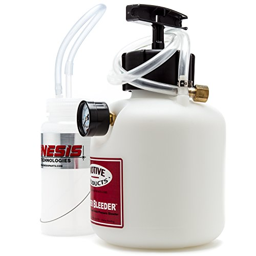 Brake Bleeding Kit with ATE Type 200 Brake Fluid, Bleeder Bottle, and Motive Power Bleeder 0100 by Genesis Technologies (Image #2)'