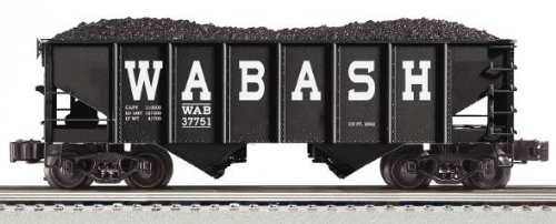 (Kline Wabash Die Cast 2-Bay Ribbed Hopper)