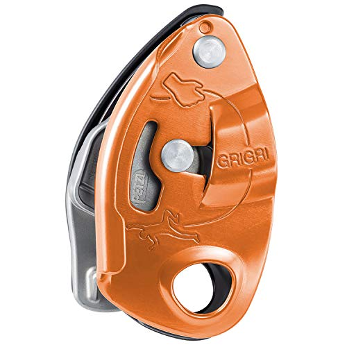 PETZL - Grigri Assisted Braking Belay Device, Red
