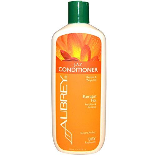 Aubrey Organics Jojoba & Aloe Desert Herb Revitalizing Conditioner, 11-Ounce Bottle