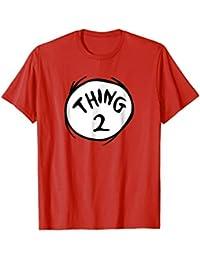 Thing 2 Emblem RED T-shirt