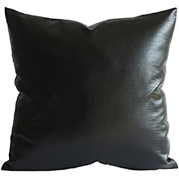 Amazon Com Kdays Black Crocodile Thick Soft Faux Leather Lumbar