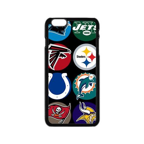 Alta calidad Diseño plástico cascos NFL fondo para iPhone 6 Case: Amazon.es: Electrónica