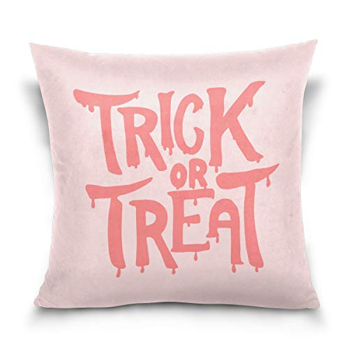 Jack O' Lantern Pumpkin Halloween Costume Pillow Case,Trick or Treat,Sofa Bed Home Decor Cushion Cover Unique Design -