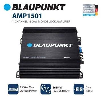 Blaupunkt 1500W 1-Channel Monoblock Amplifier