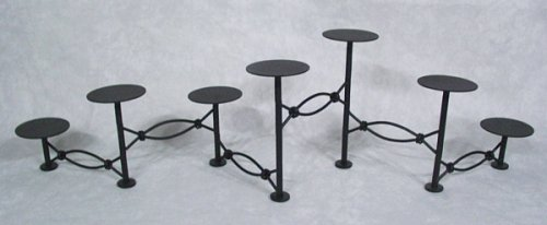Amazon.com: MISSION ACCORDION Fireplace Candelabra with Cup Pins ...