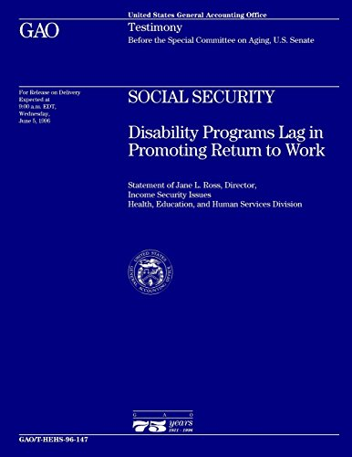 Social Security  Disability Programs Lag In Promoting Return To Work