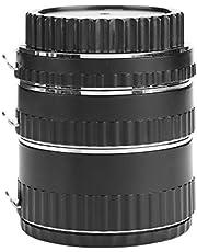 Lensadapter Macro Extension Tube Set, Macro Lens Tube Extension Duurzaam Manua Quick voor EF EF-S Lens (35-70focale lengte)