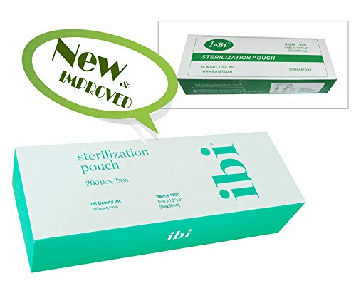 IBI Self Seal Sterilization Pouch(200pcs/box) 3.5 x 9 Autoclave Bag