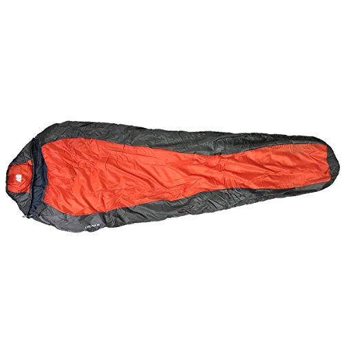 Cheap LITE PAK 20 High Peak 00103 Lite Pak 1200, 20 Degree Sleeping Bag, Red & Gray, 31.5″x89″x20″