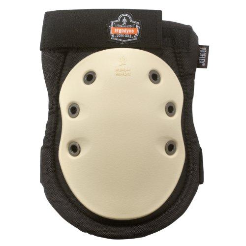 Ergodyne ProFlex 325HL Non-Marring Cap Knee Pads, Hook & Loop Closure