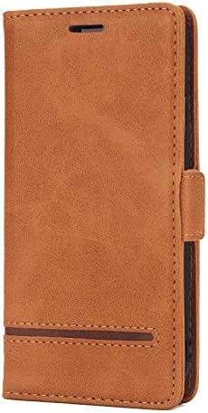 iPhone X レザー ケース, 手帳型 アイフォン X 本革 カバー収納 耐衝撃 ビジネス 携帯カバー 財布