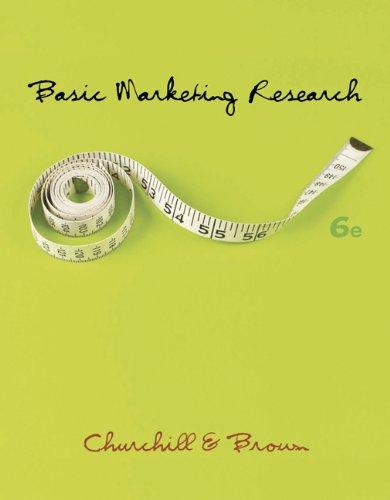 Basic Marketing Research