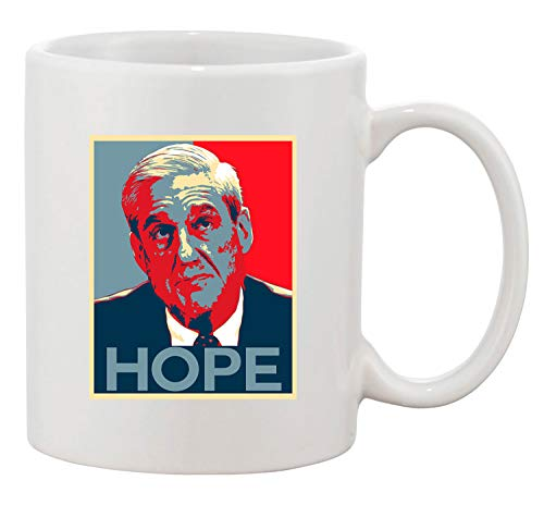 Robert Mueller Hope USA Support Political DT Coffee 11 Oz White ()