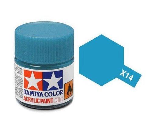 Tamiya Models X-14 Mini Acrylic Paint, Sky Blue ()