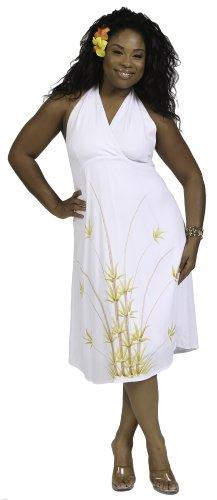 1 Monde Sarongs Des Femmes Des Sundress Été Avec Licou Dans Votre Choix De Modèles Blancs