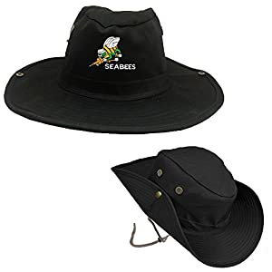 Seabees Bee Logo Military Outdoor Hiking Hunting Hat Soldier Boonie Bush