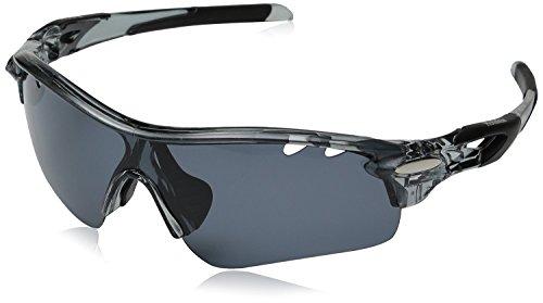 Hulislem Blade Sport Polarized Sunglasses -Case...