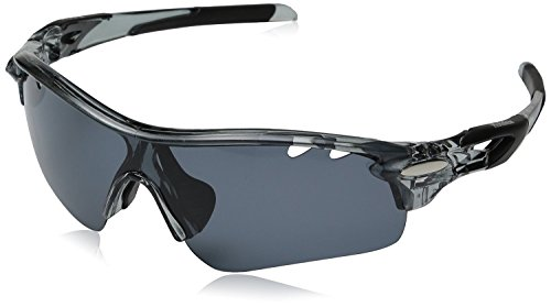 cheap oakley shades  hulislem blade sport polarized sunglasses, smoke matte black