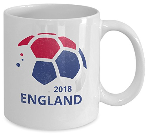 England National Soccer Team English Football Fan Coffee Mug & Tea Cup by Delsee