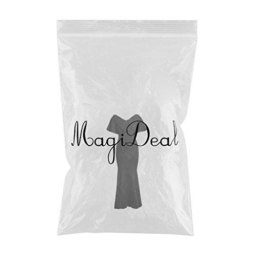 Magideal negro Noche Especializada Boda Maxi Formal s de Noche Formal Vestido de Cóctel Ropa Mujeres Honor Dama Fiesta aqargtw