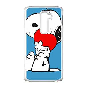 snoopy green LG G2 Cell Phone Case White S4749320