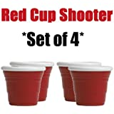 """Red Cup Living """"The Icon"""" Reusable Shooter - 2 oz (Set of 4)"""
