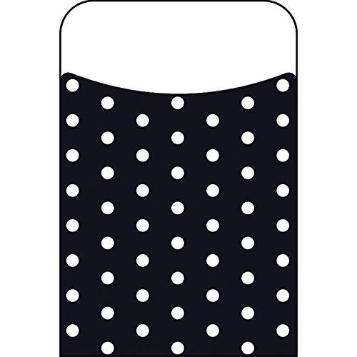Trend Enterprises Polka Dots Black Terrific Pockets Novelty