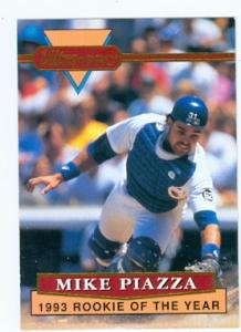 Amazoncom Mike Piazza Baseball Card Los Angeles Dodgers