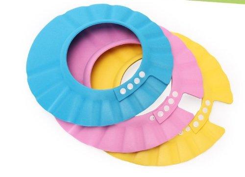 Susen Safe Shampoo Shower Bathing Protect Soft Cap Hat for Baby Children Kids