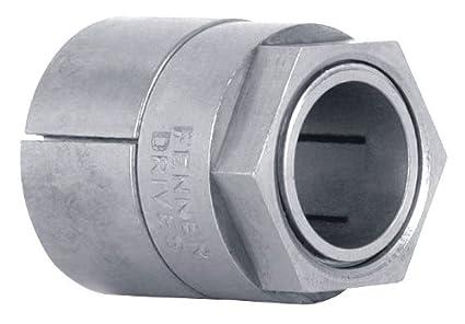 7//8 OD 1//2 ID Keyless Bushing Nickel Plated Fenner Drives 6202112 Trantorque Mini