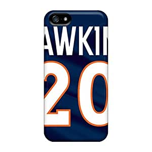 New Style Wade-cases Hard Case Cover For Iphone 5/5s- Denver Broncos