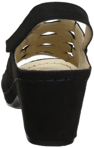 3571 60 Sandales Femme Compensé À Talon Florett schwarz Noir dgq0F6qx