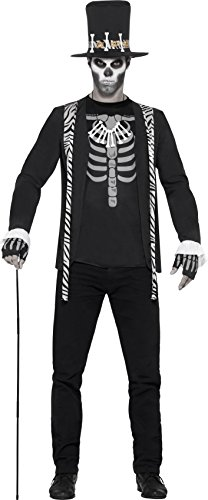 Costume Halloween 2016 Uk (Smiffy's Men's Witch Doctor Costume, Jacket, Mock T-Shirt, Hat, Necklace and Gloves, Legends of Evil, Halloween, Size M, 45569)