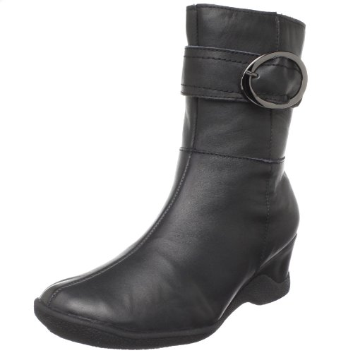 Fiorina Leather Santana Women's Boot Aquatherm Black qFFCB0