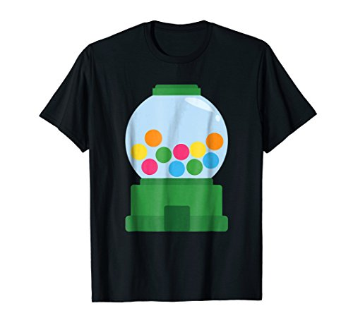 Bubble Gum Dispenser Costume Chew Candy Halloween T-Shirt for $<!--$14.99-->