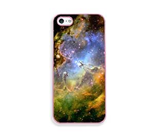 The Eagle Nebula Pink Silicon Bumper iPhone 5 & 5S Case - Fits iPhone 5 & 5S