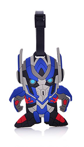 REINDEAR Heavy Duty One Piece Pirates Baggage Luggage Tag (Transformers Optimus Prime) ()