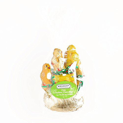 Riegelein Golden Easter Egg and Chicken Chocolates (1 Item Per Order, not per case)