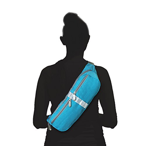 ArunnersTM Sling Bag Backpack, Multipurpose Daypack Book Bag for Men & Women