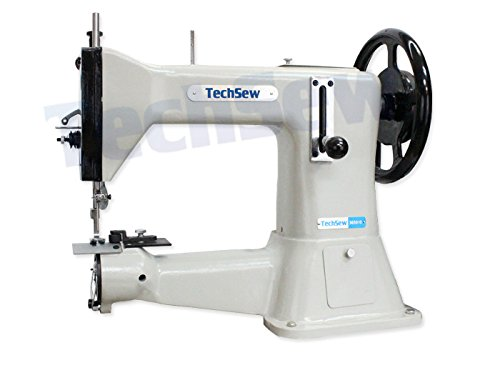 TechSew 3650HD Heavy Duty Leather Industrial Sewing Machine with Assembled Table & Servo Motor
