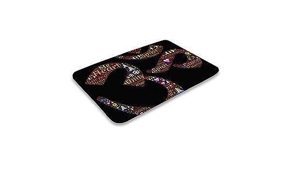 Amazon.com : Doormat Namaste Yoga Sign Soft Indoor Outdoor ...